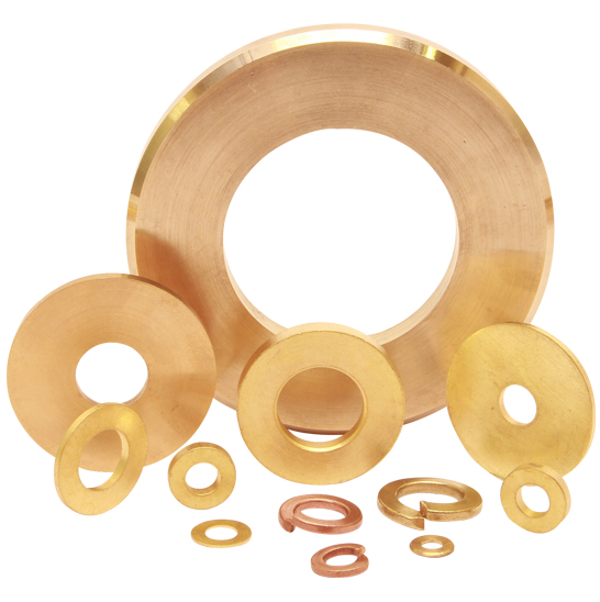 brass washers copper washres plane washers